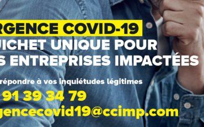 Entreprises et commerçants : la CCI vous accompagne (dossiers d'aides, Plan de solidarité, informations…)
