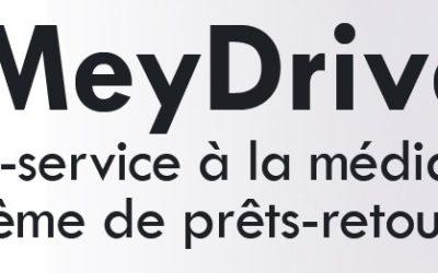«MeyDrive» : la médiathèque propose un système de prêts-retours et de réservations sur le catalogue en ligne
