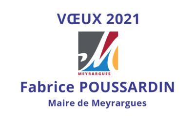 Vœux de Fabrice POUSSARDIN 2021