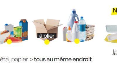 Nouveau guide du tri sélectif : Triez ! Ils recyclent !